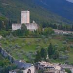 Panorama from Rocca Maggiore, Assisi